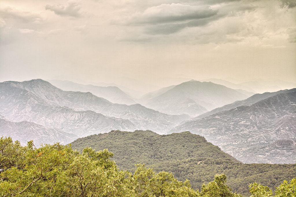 View over Solan valley from Karol Ka Tibba